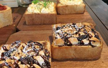 東区のトースト専門カフェに行ってきました